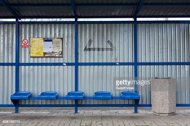 train station, waiting area - sheltering stock pictures, royalty-free photos & images