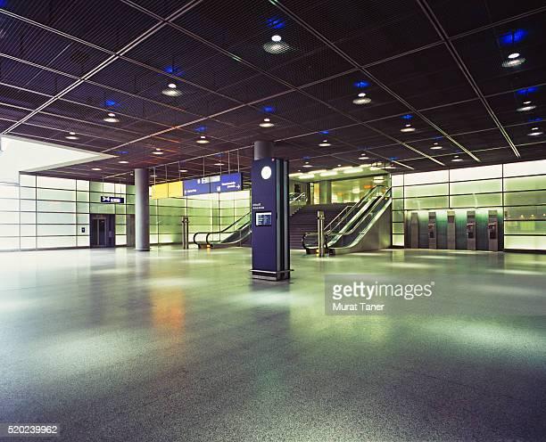 Train Stationa at Potsdamer Platz