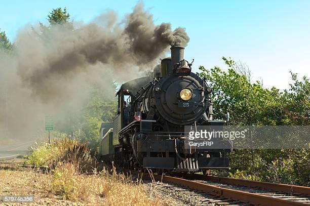 OCSR Train Steam Locomotive McCloud Railway No. 25 Garibaldi Oregon