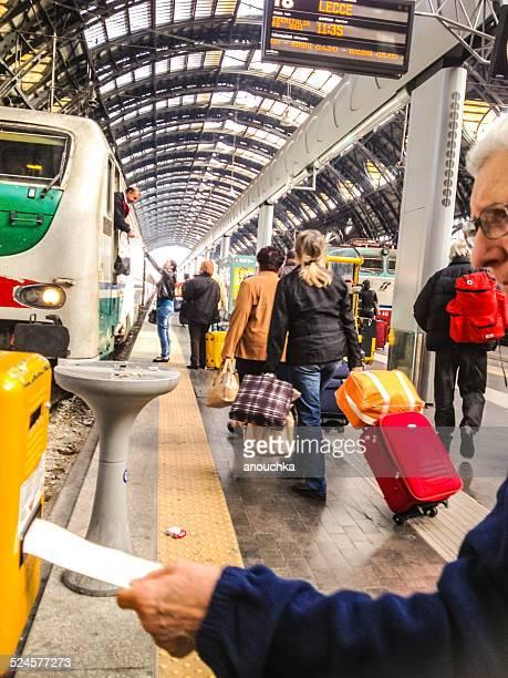 Convalida, i biglietti ferroviari, la stazione ferroviaria Centrale di Milano