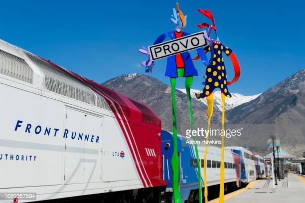 train to provo - provo stock pictures, royalty-free photos & images