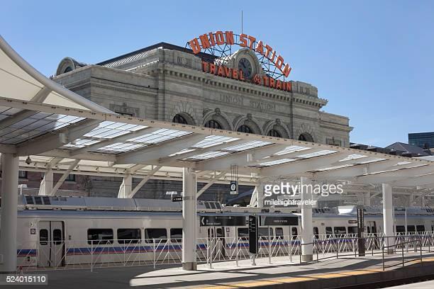 Train to the Plane Grand Opening Denver Union Station Colorado