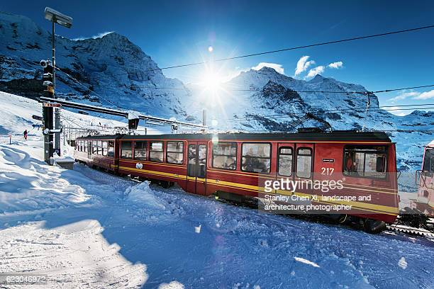 Train to the top of the Europe