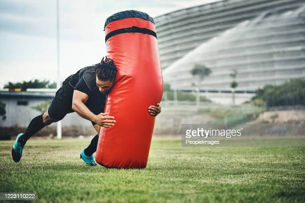 train today, win tomorrow - rugby pitch stock pictures, royalty-free photos & images