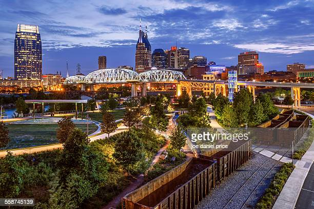 Train Tracks, Music City, Nashville, Tennessee