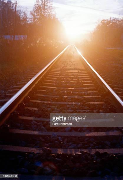 Train tracks Sweden.