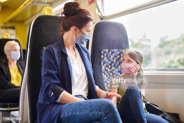 train travel during the pandemic - train vehicle stock pictures, royalty-free photos & images