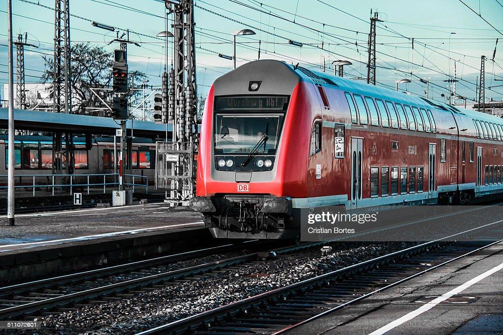 Train travel - Heilbronn to Frankfurt