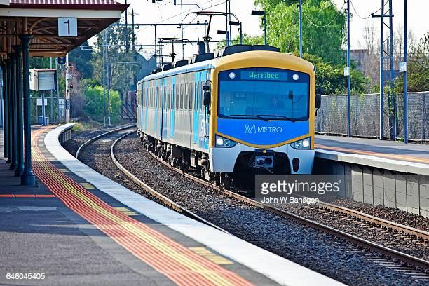 Train, Yarraville. Melbourne