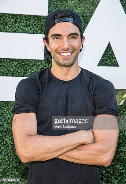 Trainer Akin Akman attends the Southampton Sweet Presented by Bandier Juice Press and Republic Records at the Southampton Arts Center on August 20...