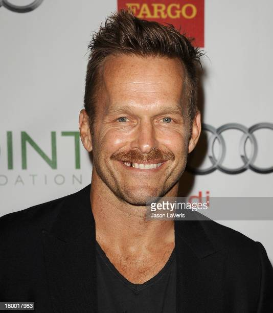 Trainer Bob Harper attends the Voices On Point musical gala to benefit the Point Foundation at the Hyatt Regency Century Plaza on September 7 2013 in...
