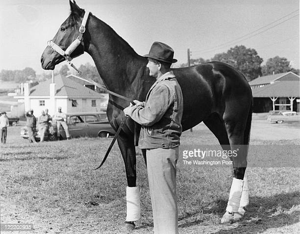 Trainer Carl Hanford, with horse Kelso on October 24, 1961. Hanford who earned a plaque in the thoroughbred racing hall of fame as the trainer of...