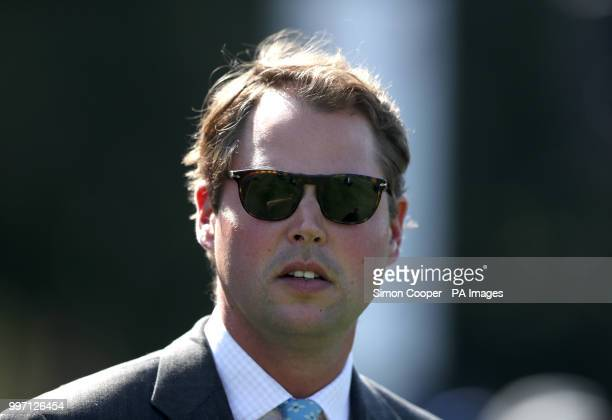 Trainer Charlie Fellowes prior to The British Stallion Studs EBF Maiden Fillies Stakes during day one of The Moet Chandon July Festival at Newmarket...
