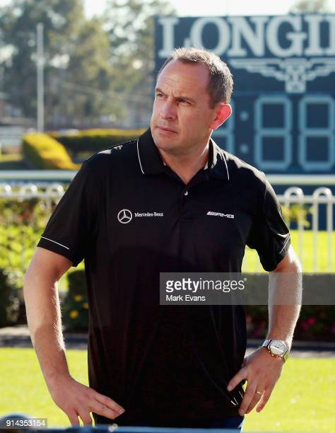 Trainer Chris Waller after Winx competed in a barrier trial at Rosehill Gardens on February 5 2018 in Sydney Australia