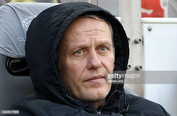 Trainer Christian Streich, Portrait Porträt Portraet, Einzelbild, close up , Sport, Fußball Fussball, DFL Bundesliga Herren, Saison 2014 Hertha BSC...