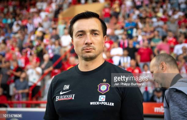 Trainer Daniel Meyer von Erzgebirge Aue vor dem Spiel zwischen Union Berlin und Erzgebirge Aue am in Berlin Deutschland