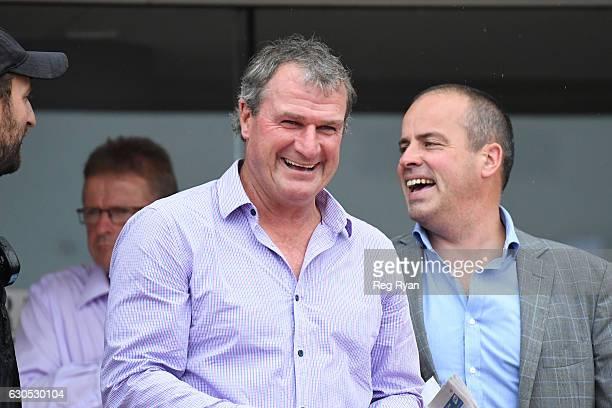 Trainer Darren Weir after his horse Kenjorwood won Swettenham Stud Lord Stakes at Caulfield Racecourse on December 26 2016 in Caulfield Australia