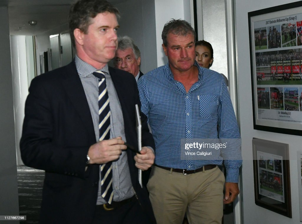 Darren Weir Investigation Continues At Racing Victoria : News Photo
