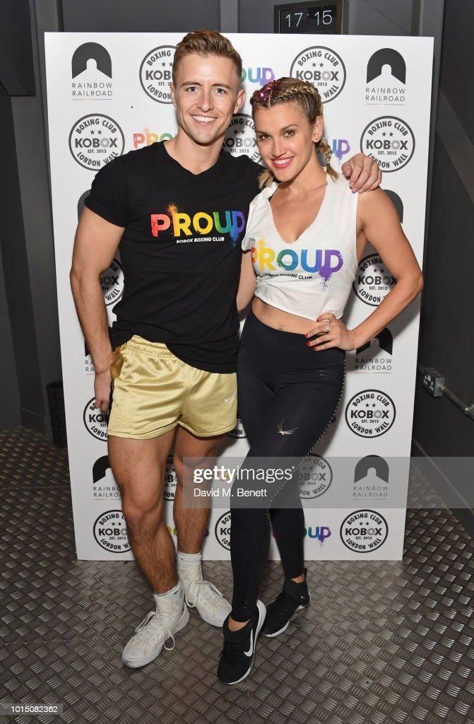 Ashley Roberts & Doug Fordyce Co-Host Charity KOBOX Class In Aid Of Rainbow Railroad : Fotografia de notícias
