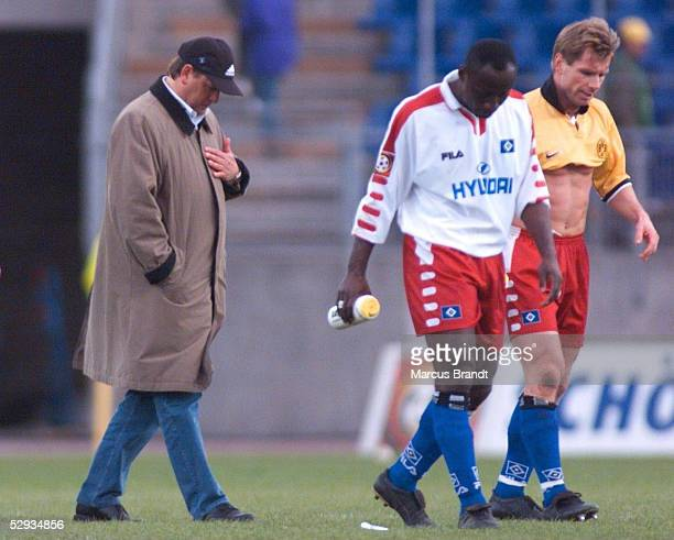 0 Trainer Frank PAGELSDORF Anthony YEBOAH Bernd HOLLERBACH/HSV