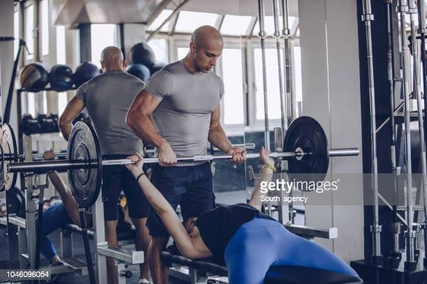 660 Bench Press For Women Photos And Premium High Res Pictures Getty Images