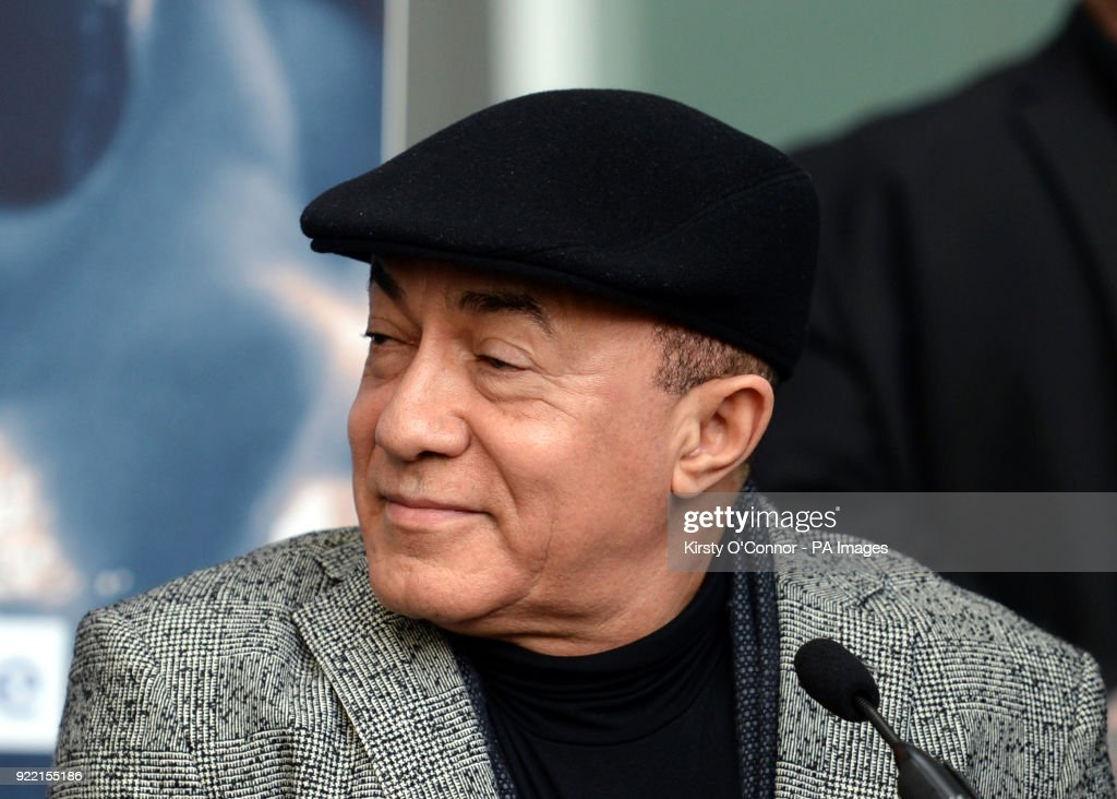 Trainer Ismael Salas during the press conference at Park Plaza Westminster Bridge, London. PRESS ASSOCIATION Photo. Picture date: Wednesday February 21, 2018. See PA story BOXING London. Photo credit should read: Kirsty O'Connor/PA Wire