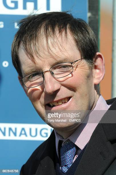 Trainer James Fanshawe after his horse Zidane wins the Connaught Access Flooring Abernant Stakes