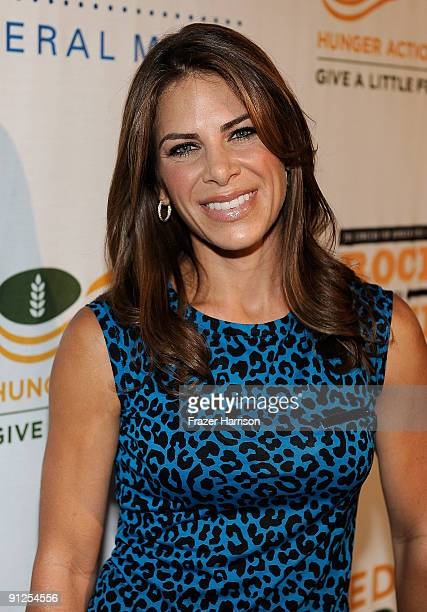 Trainer Jillian Michaels arrives at the Rock A Little Feed Alot benefit concert held at Club Nokia on September 29 2009 in Los Angeles California