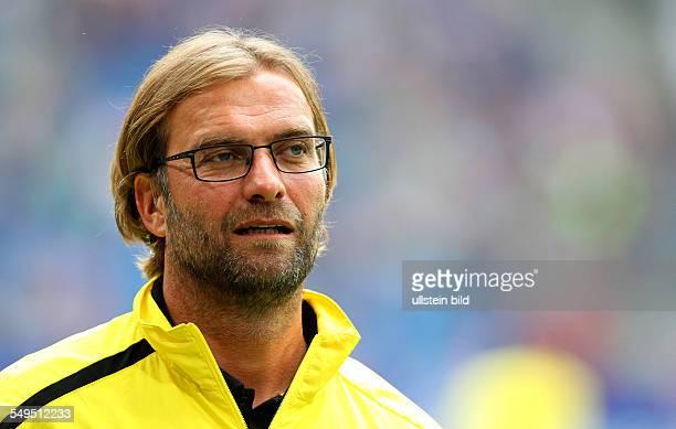 Trainer Jürgen Juergen Klopp, Portrait Porträt Portraet, Einzelbild, close up , Sport, Fußball Fussball, erste 1.Bundesliga Herren Liga total Cup,...