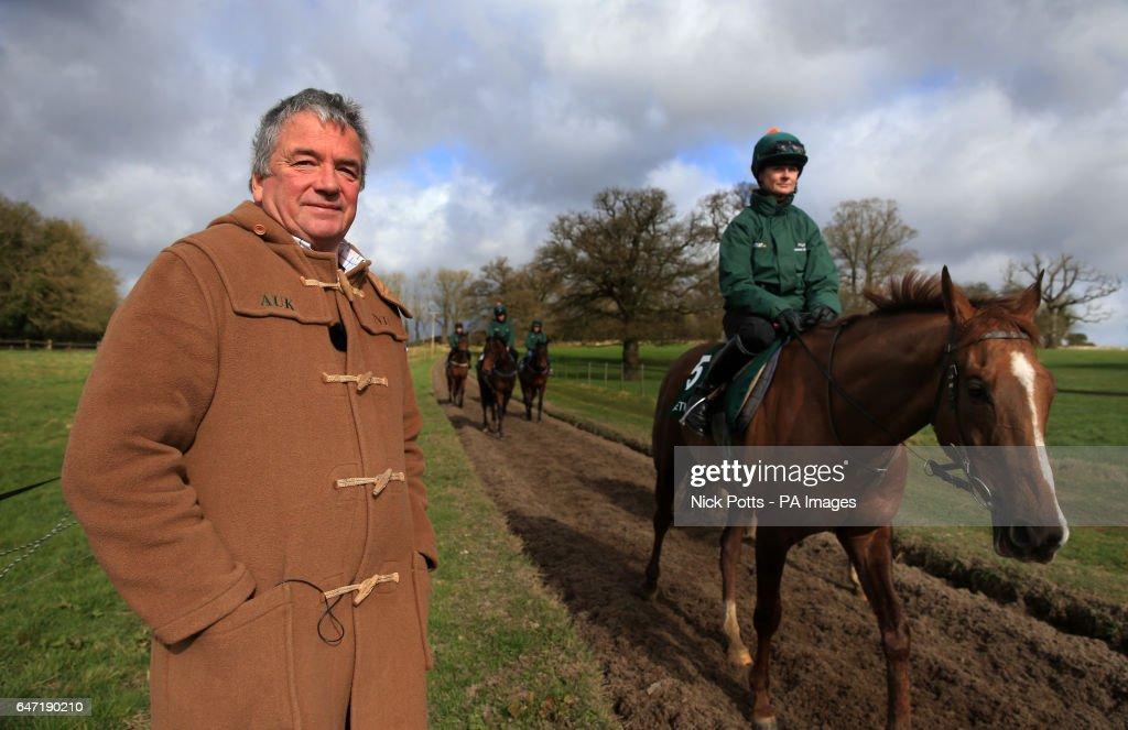 Nigel Twiston-Davies Stable Visit - Grange Hill Farm : News Photo