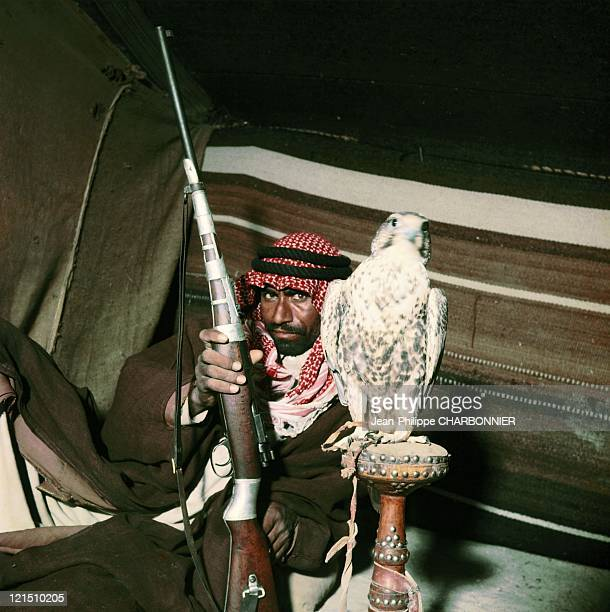 Trainer Of Falcons Kuwait In 1955