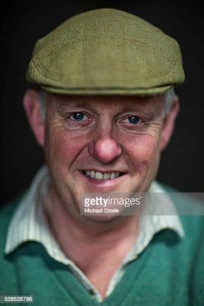 Trainer Philip Hobbs at Sandhill Racing Stables on May 6 2016 in Minehead England Sandhill Racing Stables set in 500 hundred acres of farmland in...