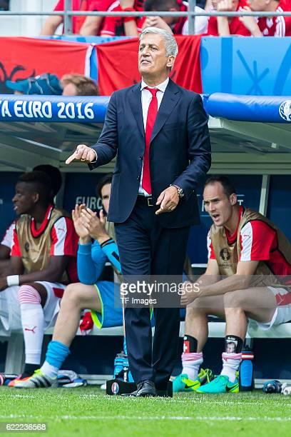 Samstag Europameisterschaft in Frankreich Lens Albanien Schweiz 01 Trainer Vladimir Petkovic