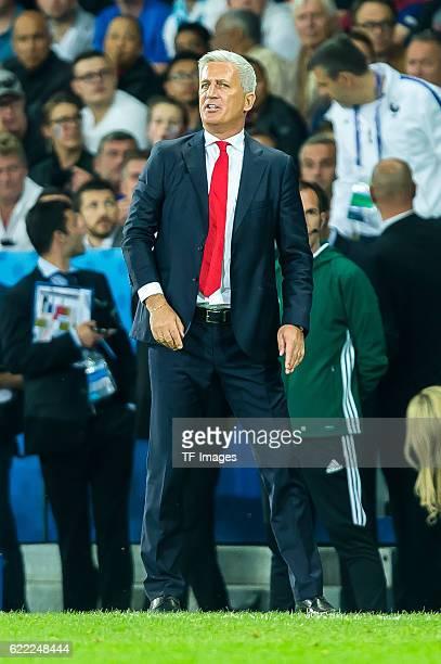 Sonntag Europameisterschaft in Frankreich Lille Schweiz Frankreich 00 Trainer Vladimir Petkovic