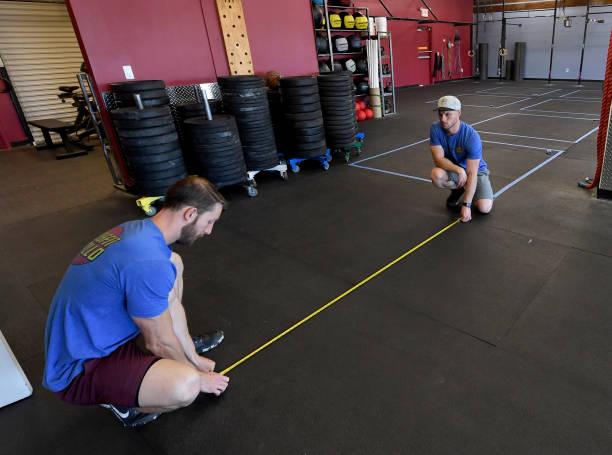 NV: Las Vegas Gym Prepares To Reopen