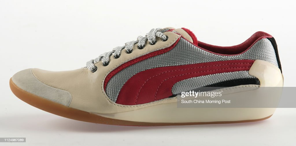 Trainers by Alexander McQueen for Puma. 01 March 2007 : News Photo