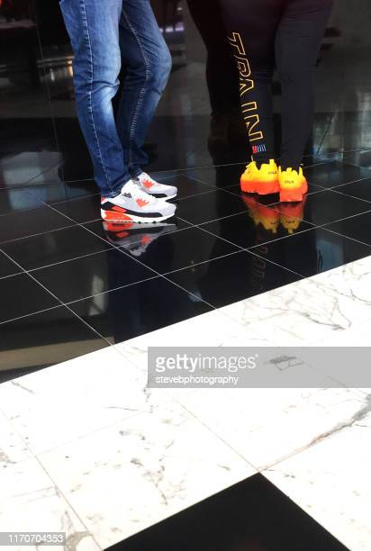 trainers - stevebphotography stock pictures, royalty-free photos & images