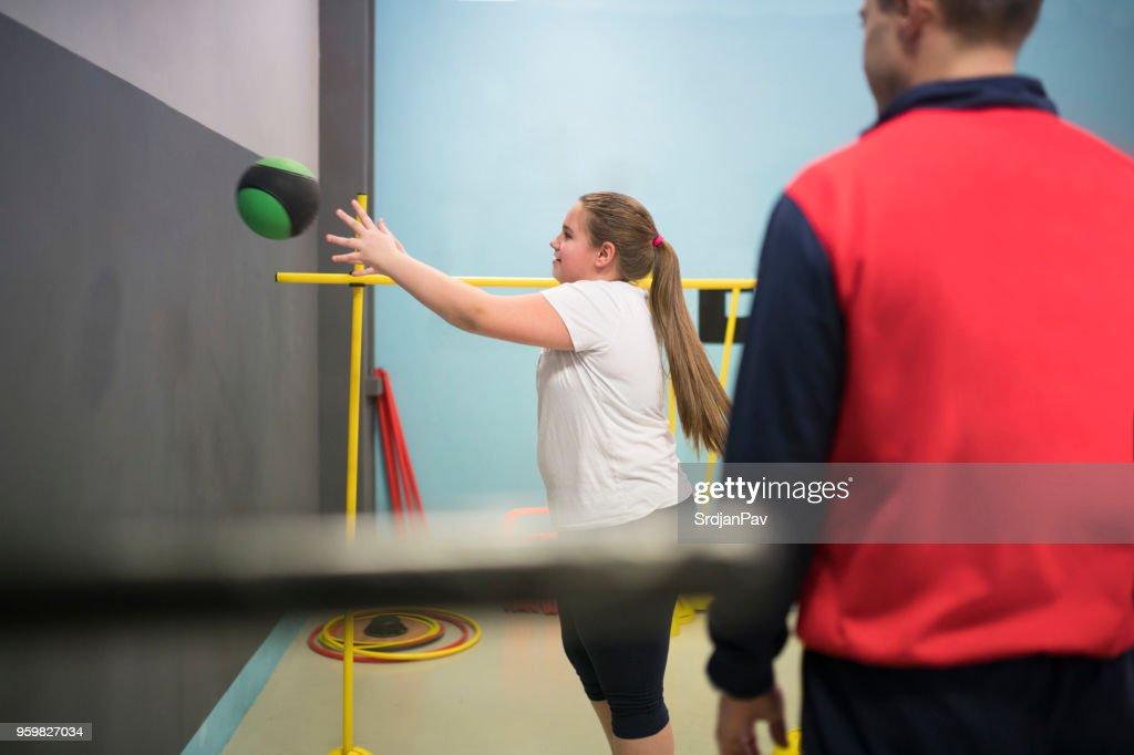 Trainieren und spielen : Stock-Foto