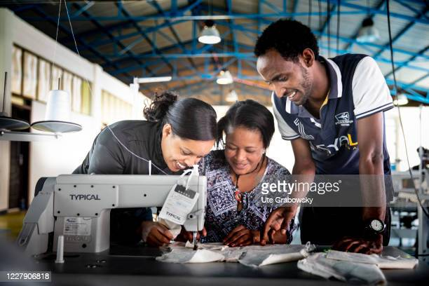 Training as a seamstress at a vocational school for integration on December 03 2019 in Adis Abeba Ethiopia