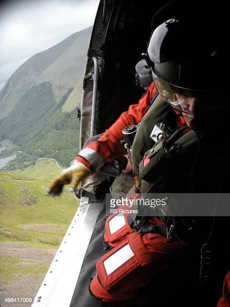 training exercise - inside helicopter stock pictures, royalty-free photos & images