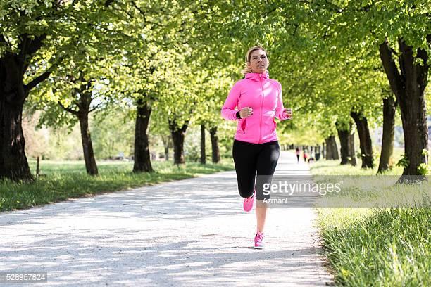Training hard for the marathon