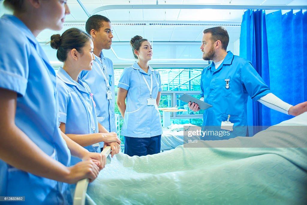 training nurses : Stock Photo