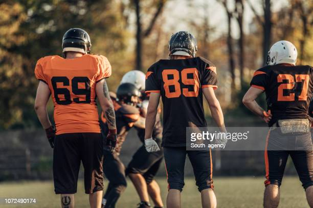 nfl training - guard american football player stock photos and pictures