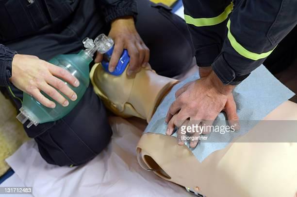CPR de capacitación