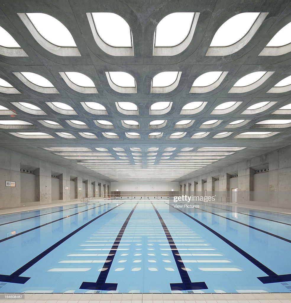 Training Pool, Zaha Hadid Architects, United Kingdom, Architect : News Photo