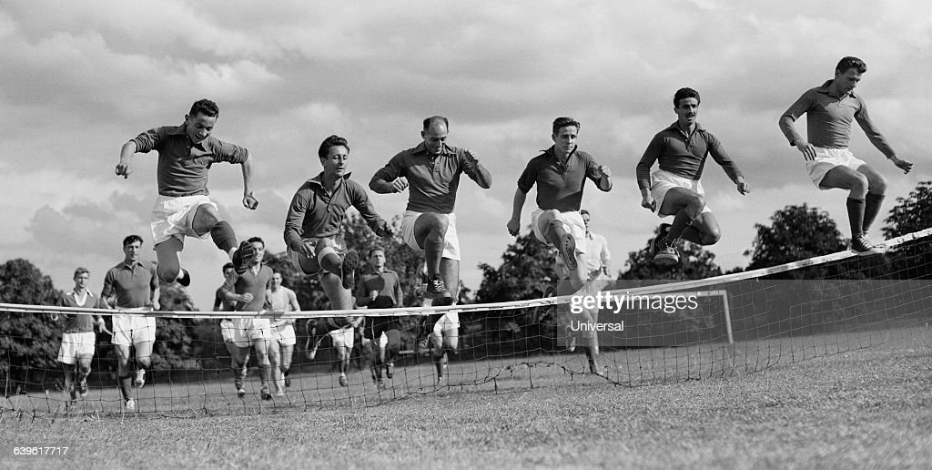 Soccer - French National Team - 1953 : Photo d'actualité