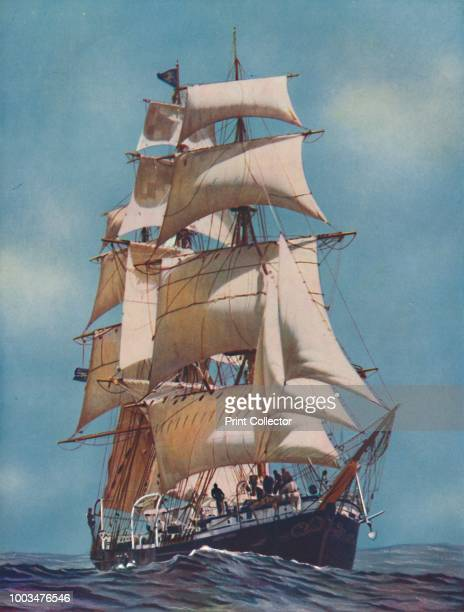 A Training Ship for FiftyTwo Years the Joseph Conrad is now registered as a yacht' 1937 From Shipping Wonders of the World Vol II edited by Clarence...