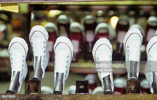 training shoes - shoe factory stock pictures, royalty-free photos & images