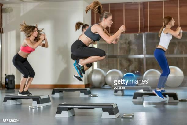 Étape d'entraînement aérobie