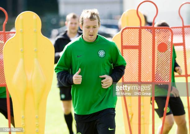 Celtic ace Aiden McGeady gears up to face Arsenal
